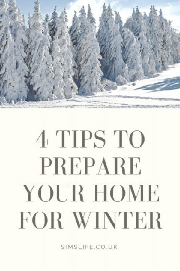 Prepare your home for winter