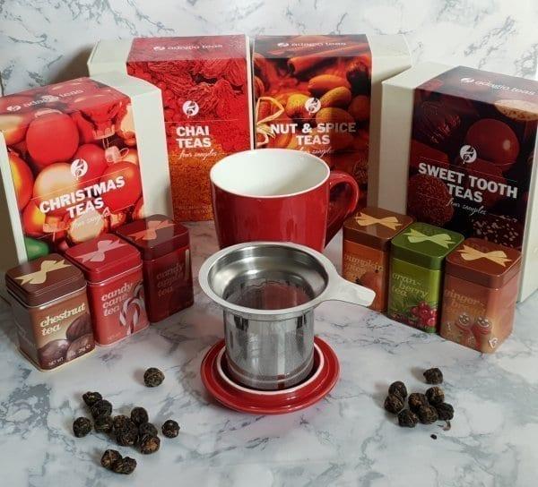 Christmas Drinks Tea from Adagio