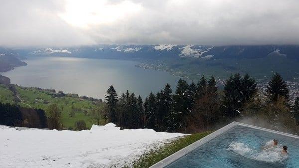 Switzerland Infinity pool