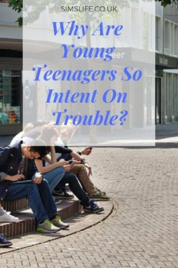 young teenagers
