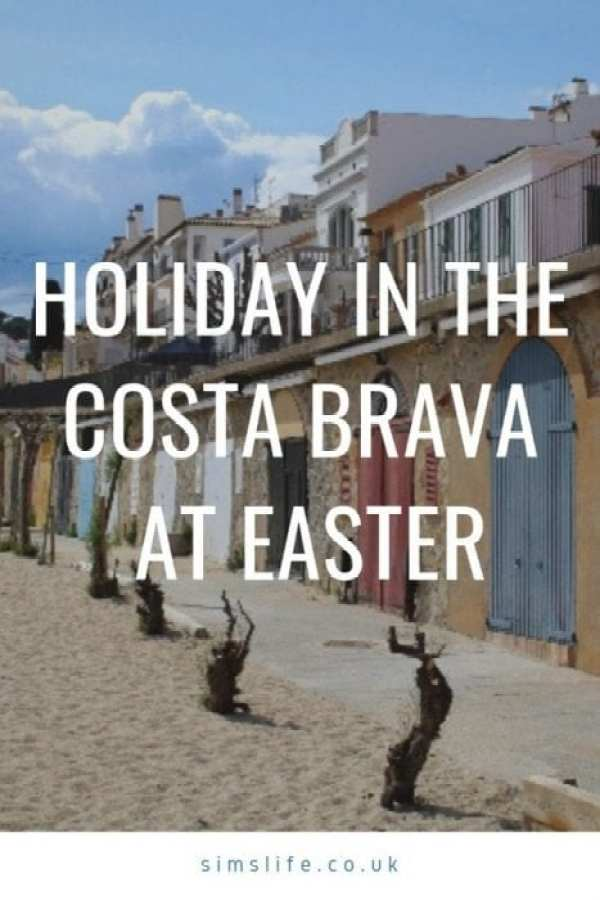 Holiday In The Costa Brava Pin