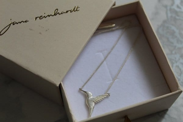 jana reinhardt hummingbird necklace