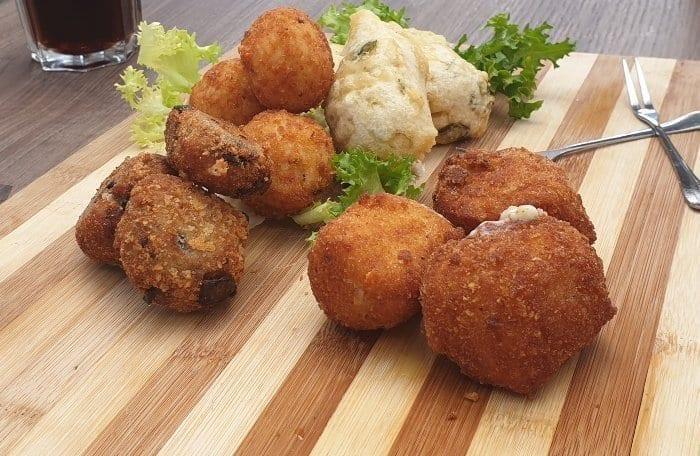 Food at Marina Piccola Sorrento