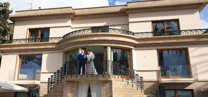wedding in Italy at Villa Antiche Mura
