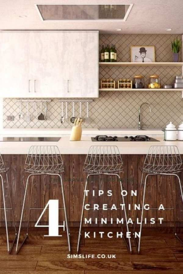 tips on creating a minimalist kitchen