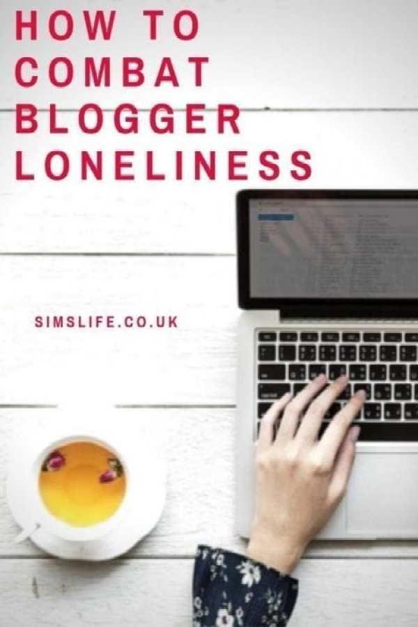 combat blogger loneliness