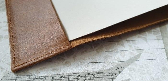 Amalfi Refillable Leather Journal