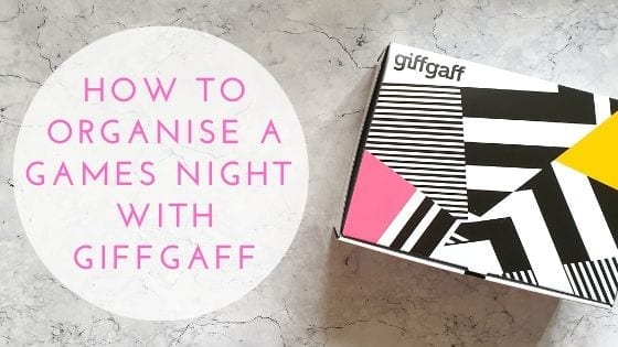 How To Organise A Games Night With GiffGaff