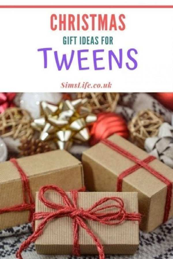 gift ideas for tweens pinterest image