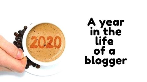 A year in the life of a blogger