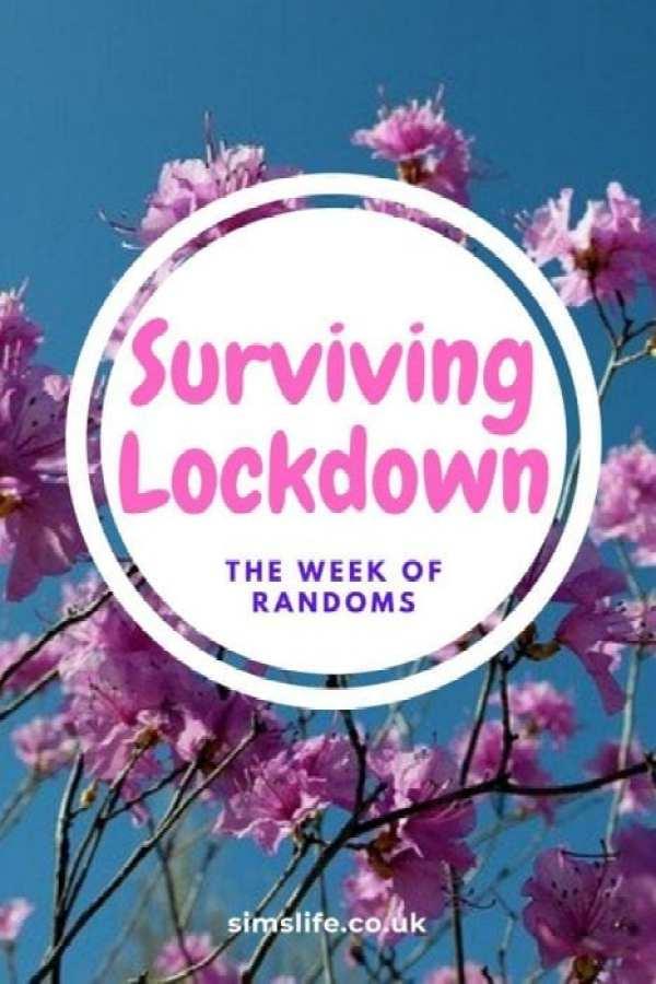 Surviving Lockdown - The week of randoms