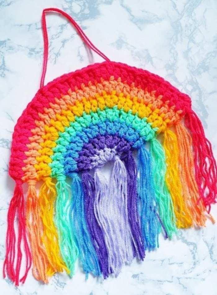 Crochet Rainbow Lockdown Week of Treats