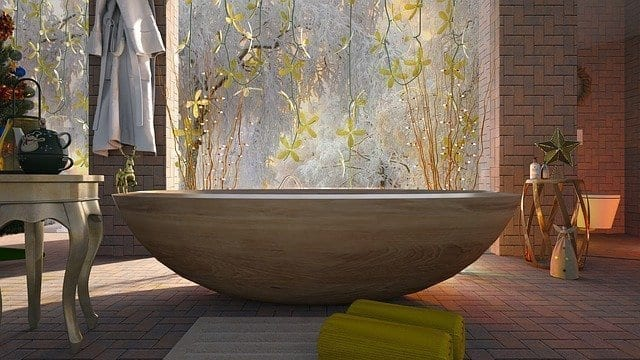 have a relaxing bath