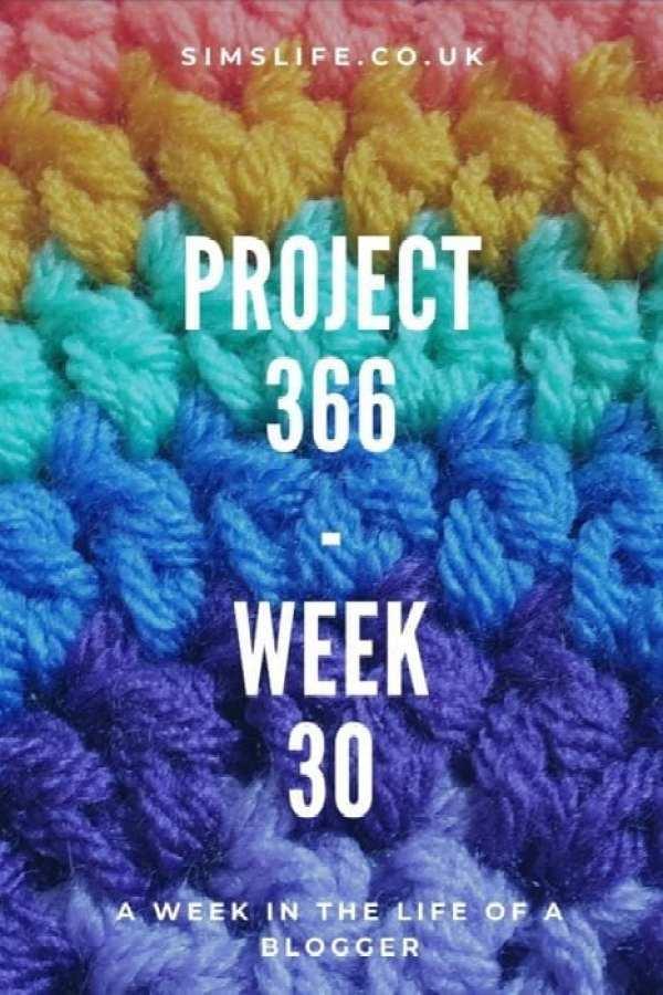 Project 366 Week 30 Pinterest