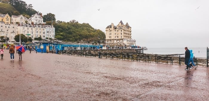 Rainy day in Llandudno