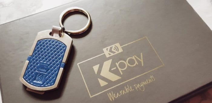 K-pay keyring