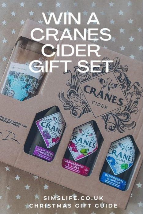 Cranes Cider Giveaway