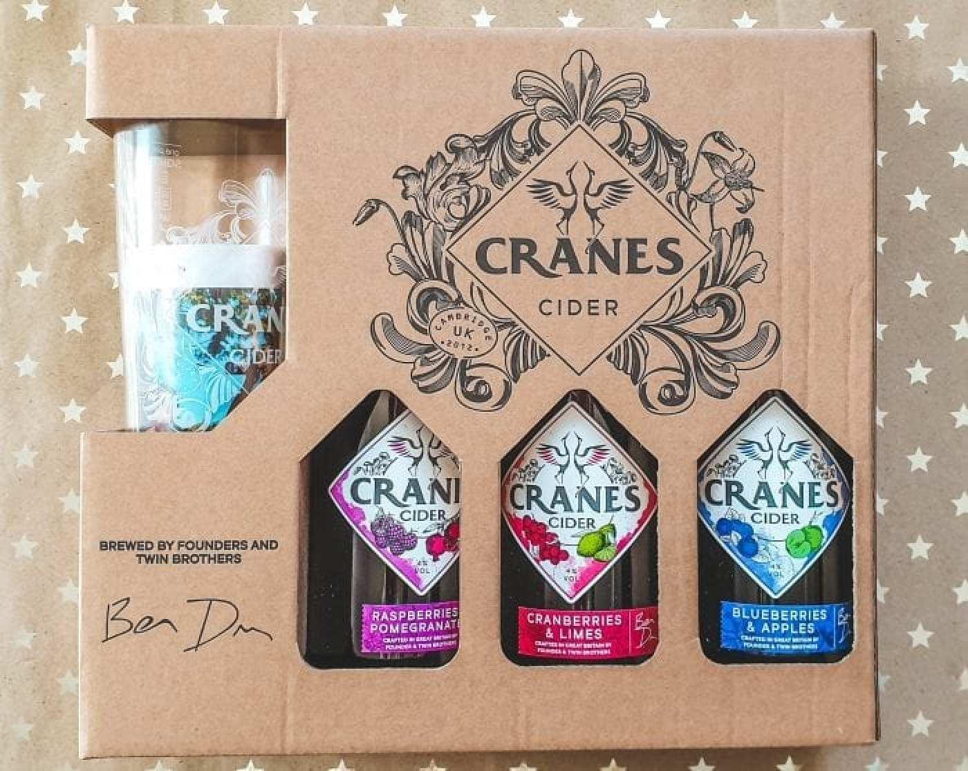 Gift set of cider