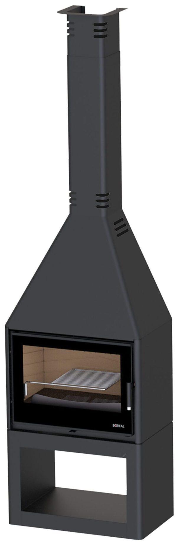 chimenea de leña boreal CH3000