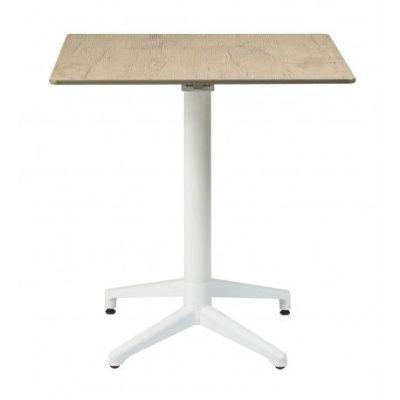 mesa para terraza exterior M3120 blanco