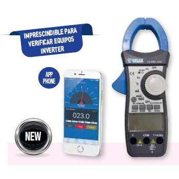 Pinza amperimétrica digital Wigam CLAMP-ONE