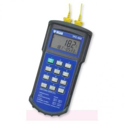 Termómetro digital con sonda doble tipo K modelo TCF-502