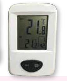 Termómetro digital interior y exterior Wigam 3061
