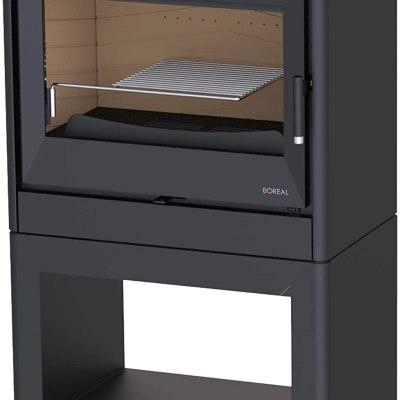 Estufa de leña Boreal E1000L