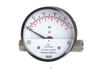 Manómetro de Presión Diferencial DPG