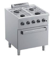 Cocina a gas MBM Ecoline Plus 700
