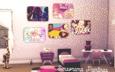 personnalis galerie sims4 5 posters lolirock