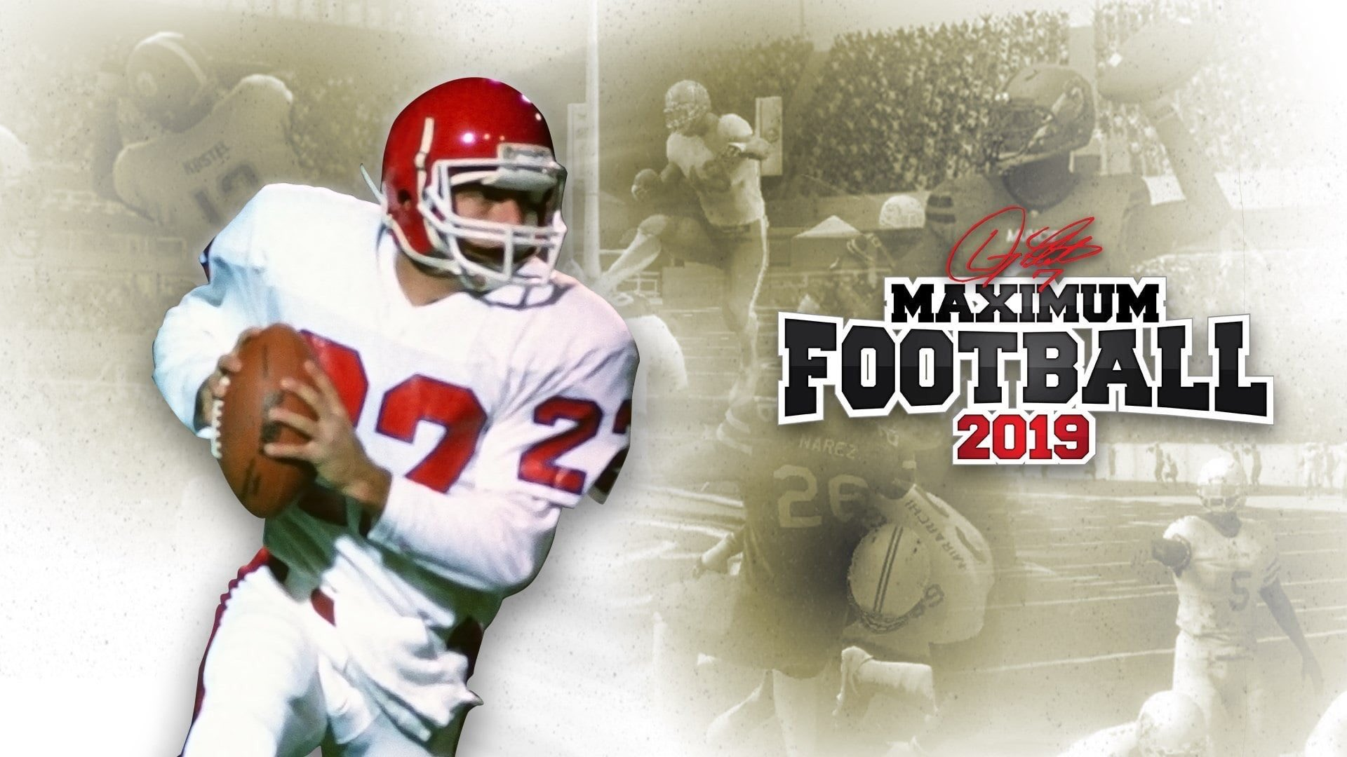 Doug Flutie's Maximum Football 2019 Releases Today Gameplay videos and trailers within