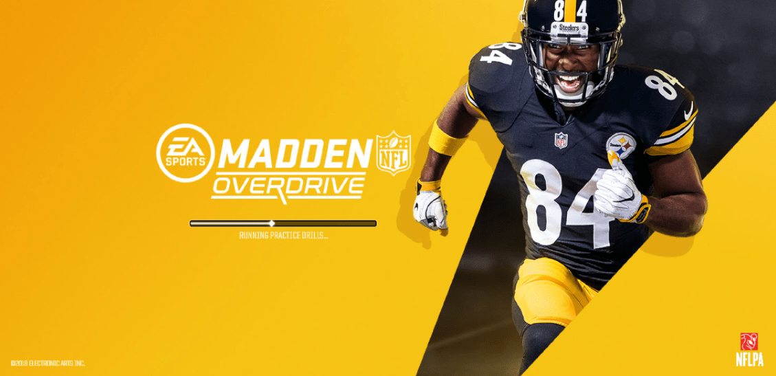 Madden NFL Overdrive Now Available EA's mobile game, Madden NFL Overdrive, is now available for download
