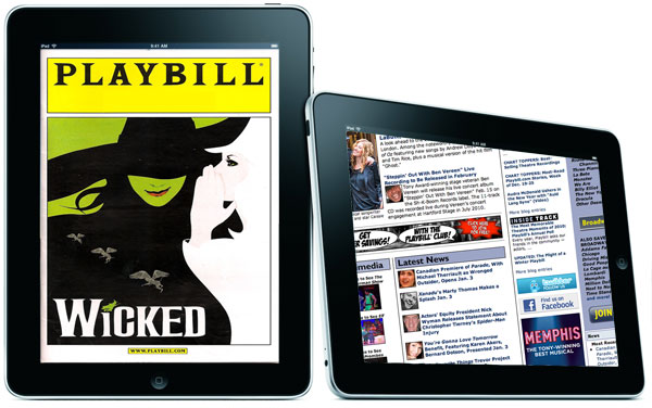 The Future of Playbills Rests in the iPad