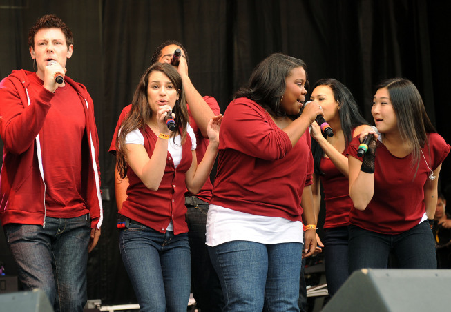 Fox's 'Glee' Performs at White House