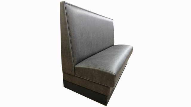 Faux Leather Booth Seating