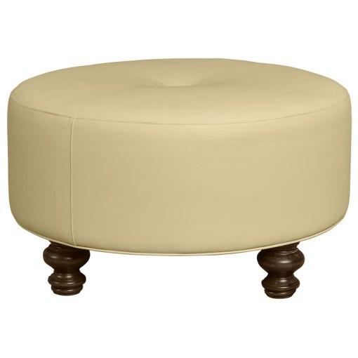 Round Modern Ottoman