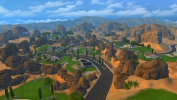 The Sims 4 Oasis Springs