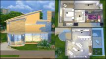 Modern House Floor Plans Sims 4