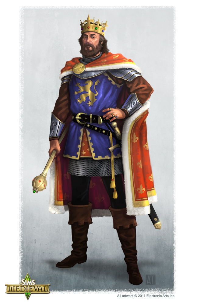The Sims Medieval Concept Art By Tony Trujillo SimsVIP