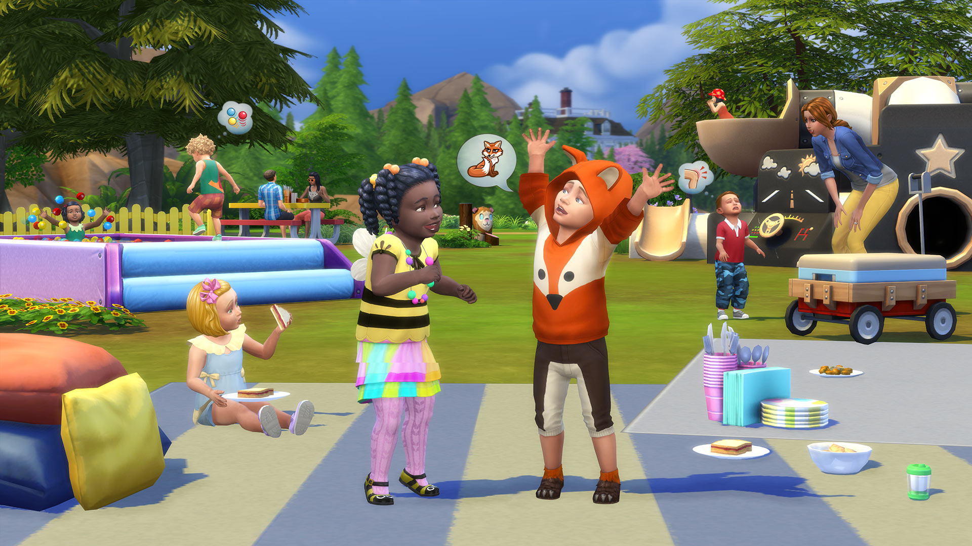 what does the sims 4 toddler stuff have in store for you sims