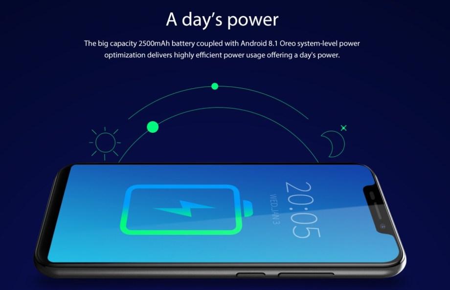Blackview A30 battery