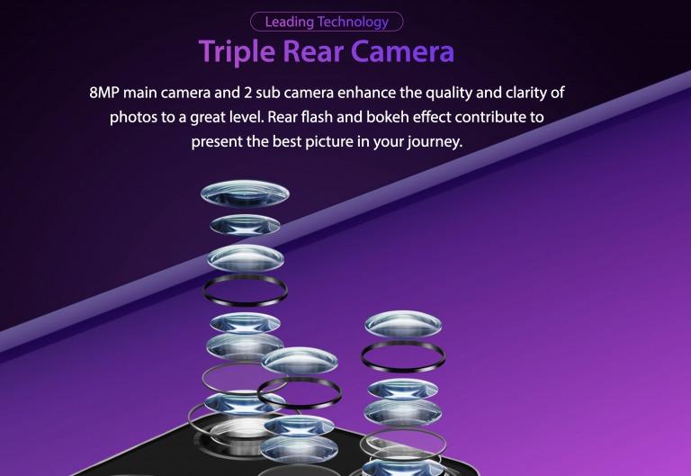 Ulefone Note 7のメインカメラ