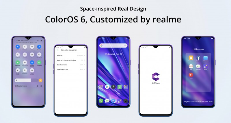 Realme 5 Proのデザイン