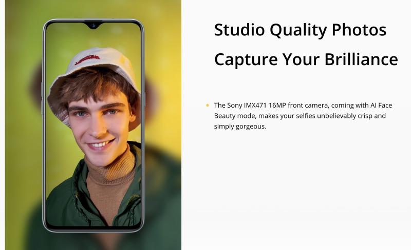 Realme XTのインカメラ