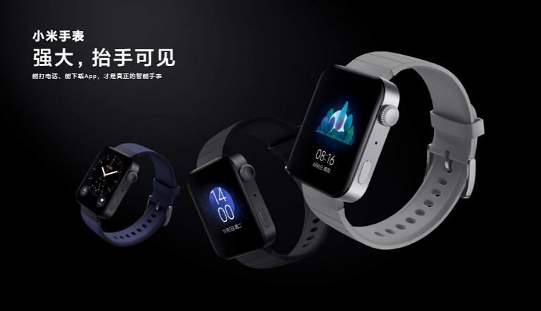 Xiaomi、Miブランドでの本格的なスマートウォッチ「Mi Watch」はApple Watch似?