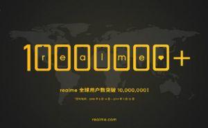 Realme 1000万台出荷