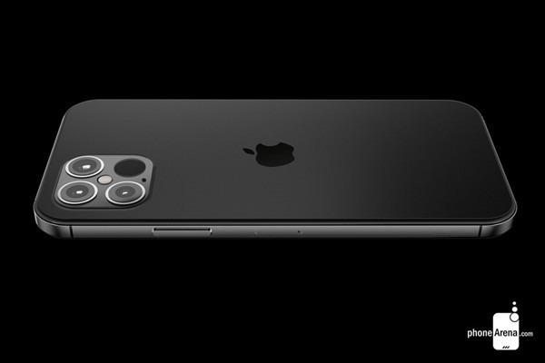 iPhone 12 Proの背面レンダリング画像