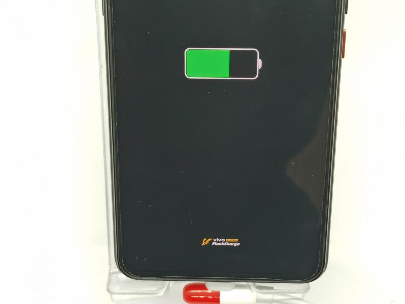 iQOO 3 5Gの55W急速充電(vivo SUPER FlashCharge)の画像