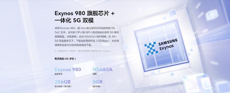 vivo S6 5GのSoC